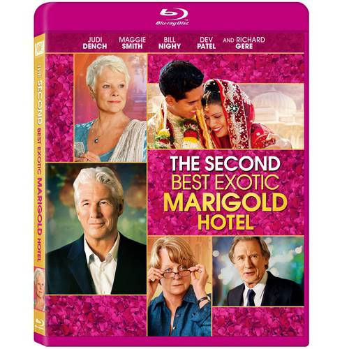 The Second Best Exotic Marigold Hotel (Blu-ray) (Widescreen)