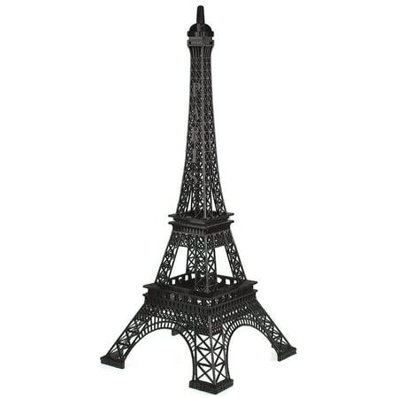 Metal Eiffel Tower Paris France Souvenir, 20-inch, -