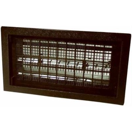 Air Vent Black Automatic Foundation Vent Features A Bi-Metal Coil To Open & Clo