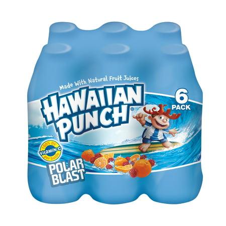 Hawaiian Punch Polar Blast Juice, 10 Fl. Oz., 6
