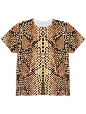89b842a3a2f6ab Product Image Halloween Rattlesnake Snake Snakeskin Costume All Over Youth T  Shirt
