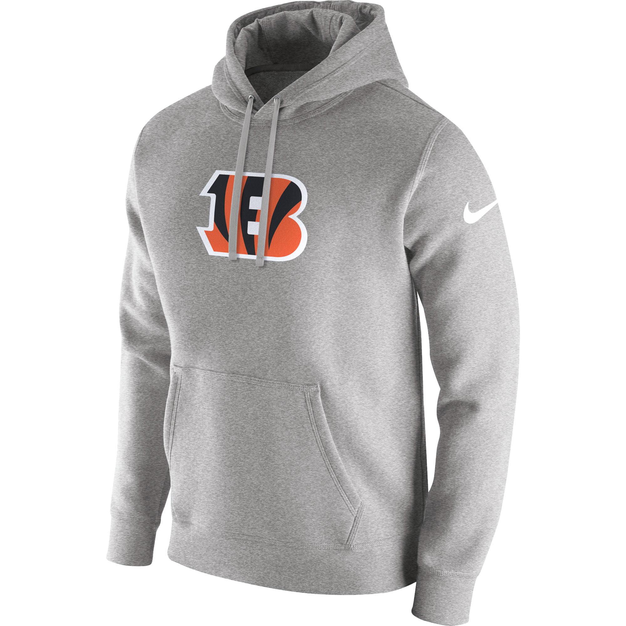 Cincinnati Bengals Nike Club Fleece Pullover Hoodie