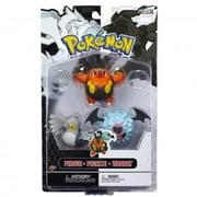 Pokemon Series 3 Basic Pignite, Woobat & Pidove Figure 3-Pack