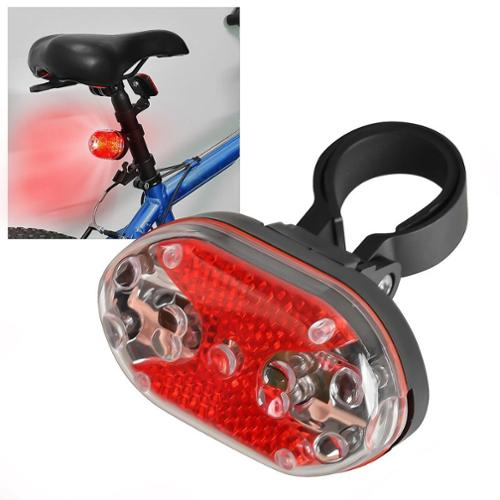 Insten 9 LED Bike Bicycle Taillight Tail Rear Light Red Warning Signal 7 Flashing Modes Biking Safety Lamp