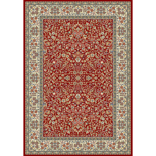 Crescent Drive Rug Company Ancient Garden Red/Ivory Area Rug