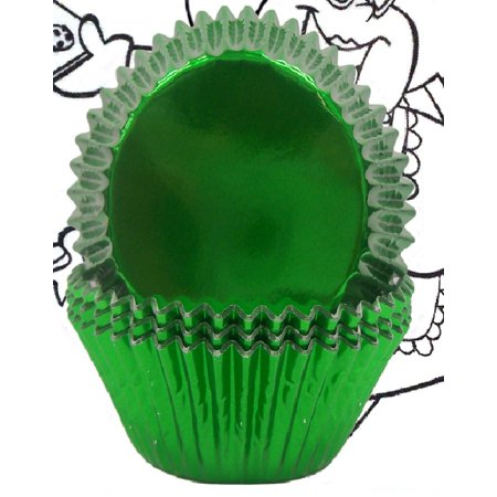 Golda's Kitchen Baking Cups - Foil - Green - image 1 de 1