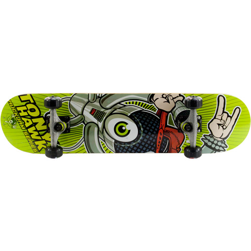 Tony Hawk HuckJam Deluxe Skateboard, Robohorns