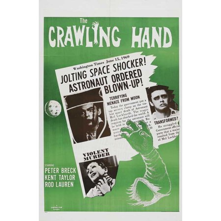 The Crawling Hand POSTER Movie B Mini - Crawling Hands