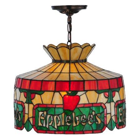 1 Light Personalized Applebees Pendant