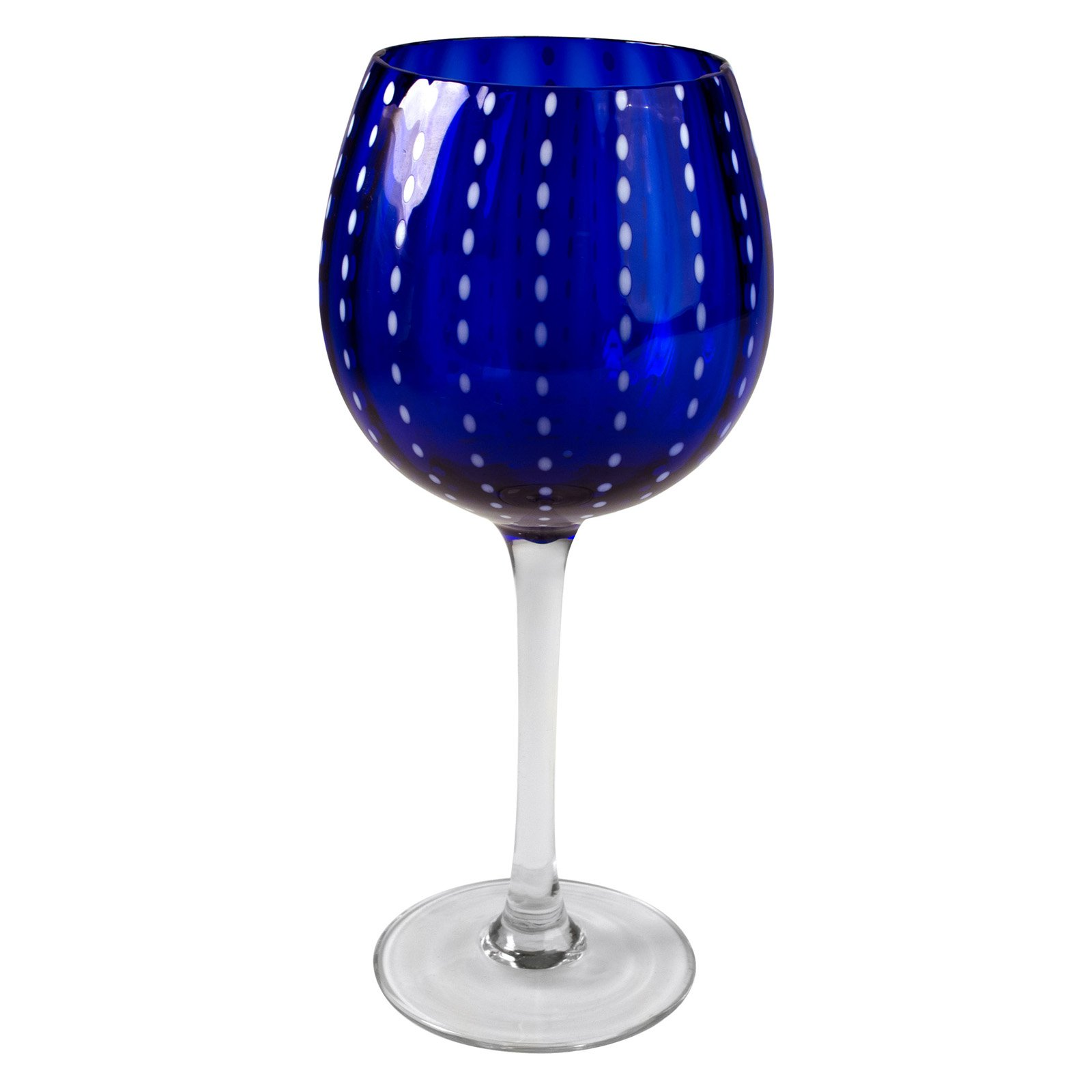 Artland Inc. Cobalt Cambria Goblet Glasses - Set of 4