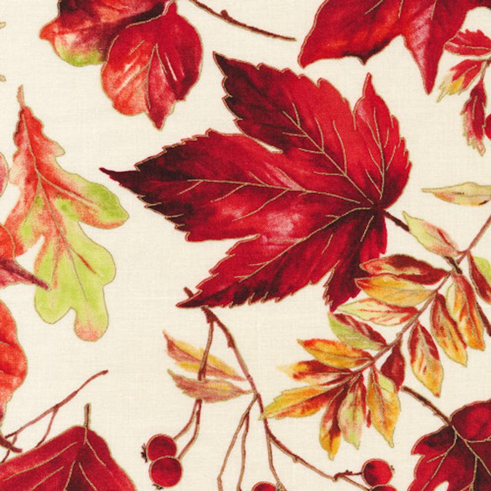 "Andrea's Silicone - 6"" Non-Slip Jar Opener - Fall Leaves"
