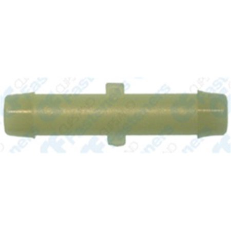 (10 Nylon Straight Connectors 1/4