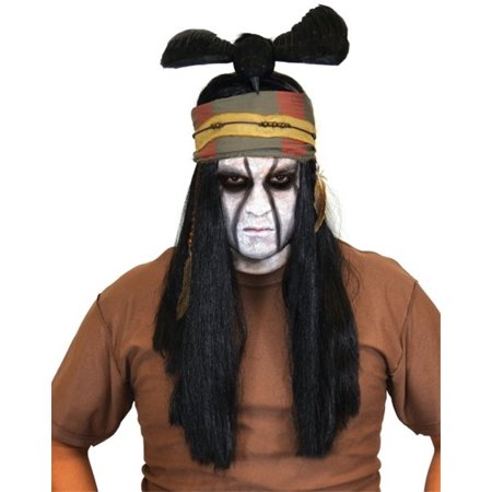 Lone Ranger Tonto Costume Wig for $<!---->
