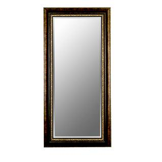 Rubbed copper bronze mirror size 40 x 50 for Miroir 40 x 50