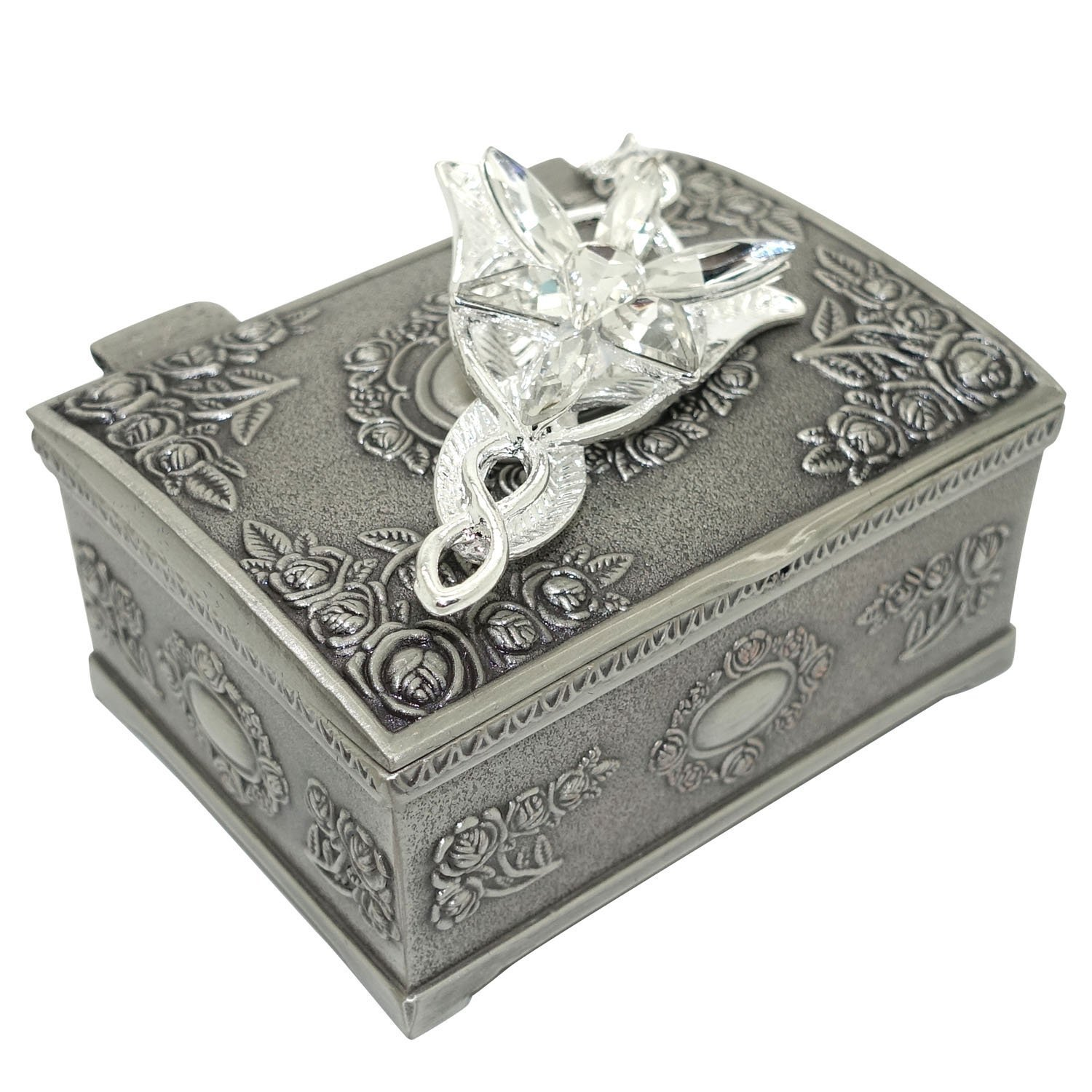 Fashion Arwen's Evenstar Necklace Lord Of The Rings pendant Necklace With Jewelry Box