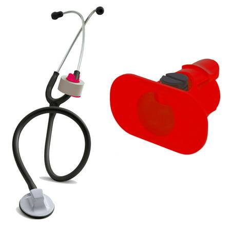 - StatGear S3 Stethoscope Tape Holder for Medical Nurses, Paramedics, EMT, CRNA (RED)