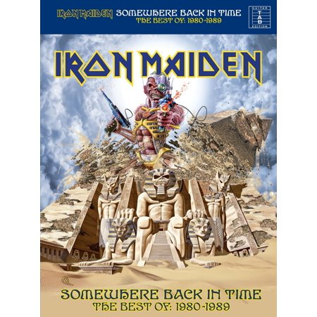 Iron Maiden: Somewhere Back In Time, The Best of: 1980-1989 (Guitar TAB) -