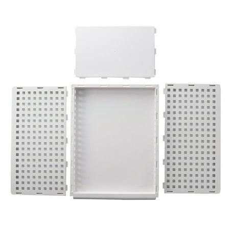 "1PC Foldable Stackable Drawer Type Storage Basket for Bedroom Wardrobe Closet Organize Size:15.3""x11.7""x6.7"" - image 2 de 8"