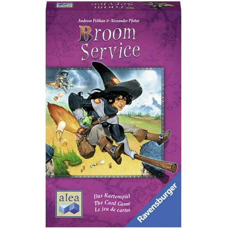 Ravensburger Broom Service Card (Best Ravensburger Card Games)