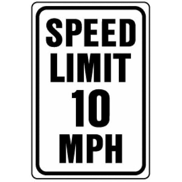 Hy-Ko Heavy-Duty Aluminum Traffic Sign