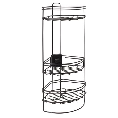 Better Homes & Gardens Standing Shower Caddy with Adjustable Basket ...