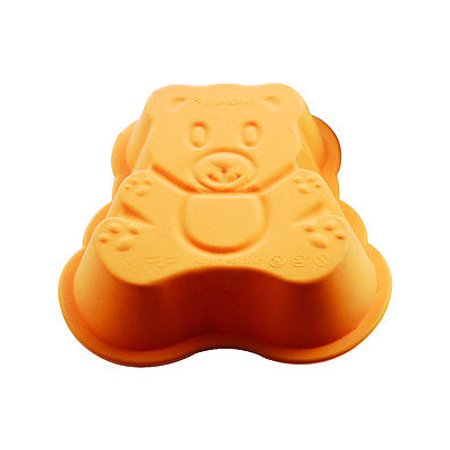 SiliconeZone Mini Teddy Bear Silicone Cake Baking Pan / Chocolate Mold