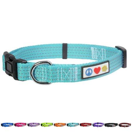 Pawtitas Pet Soft Training Adjustable Reflective Stitching Puppy Dog C
