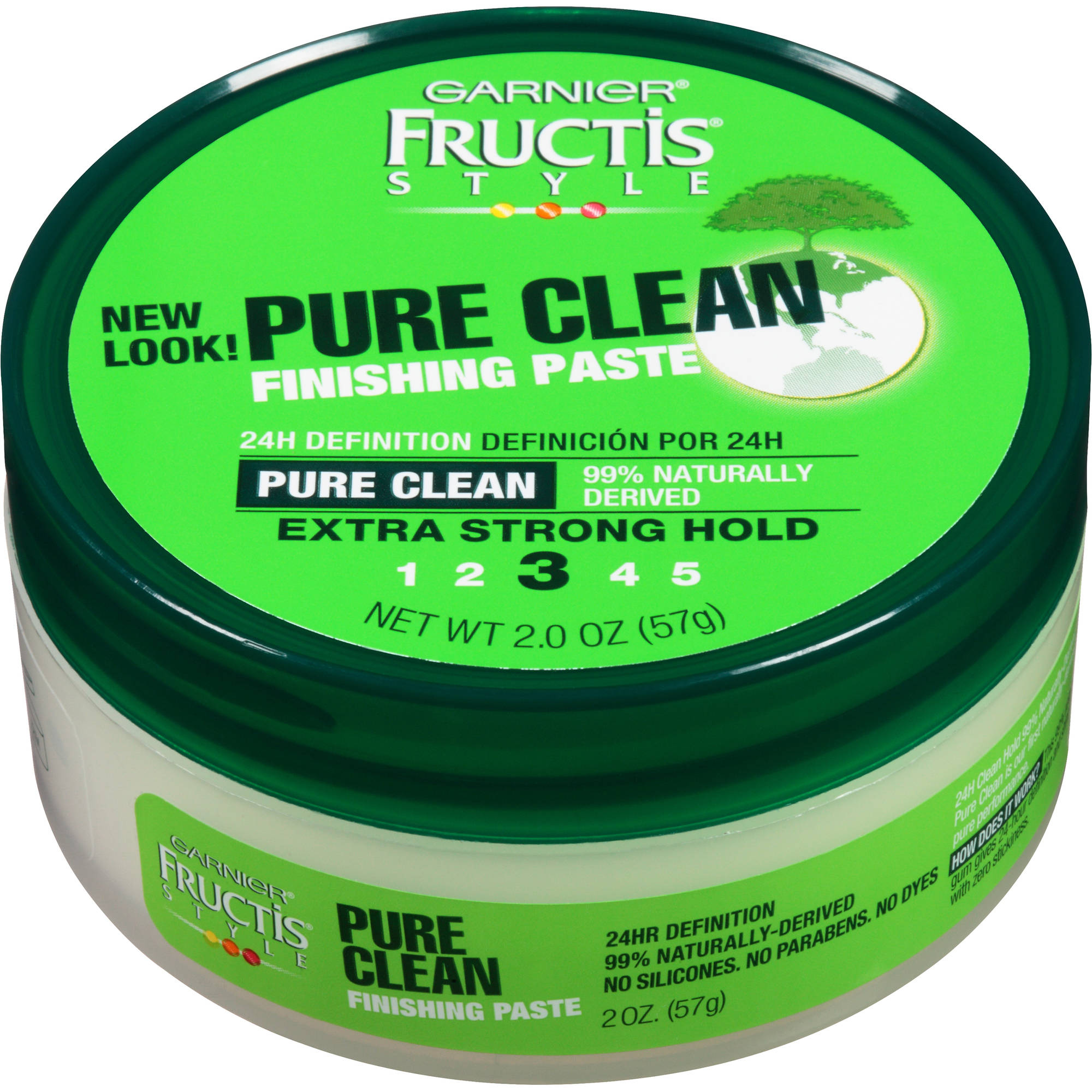 Garnier Fructis Pure Clean Paste Wax, 2 oz