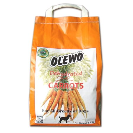 Olewo Carrots Digestive Dog Food Supplement and Effective Dog Diarrhea Relief NonGMO Product 5.5