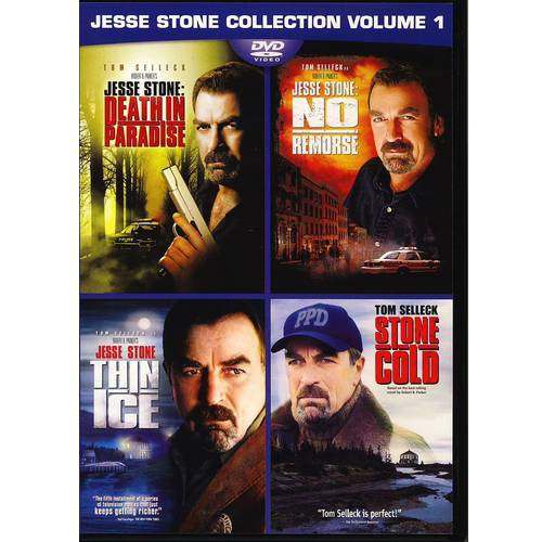 Jesse Stone Collection Volume 1: Death In Paradise / No Remorse / Stone Cold / Thin Ice (DVD + Digital Copy) (With INSTAWATCH) (Widescreen)