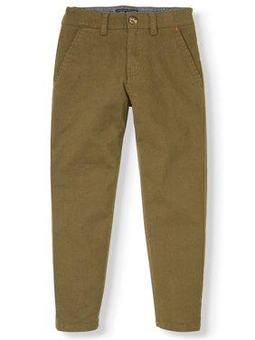 Jach's Stretch Twill Flat Front Chino Pants (Little Boy, Big Boys)