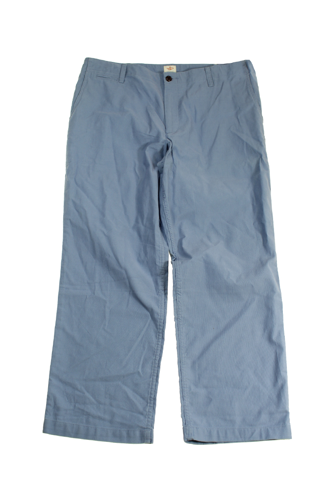 Dockers Blue Off The Clork Straight Fit Ribbed Pants 38W-30L by