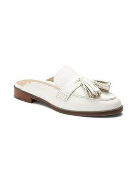 714d79c66357 Product Image Vionic Women s Reagan Leather Slip-On Orthopedic Mules White  ...