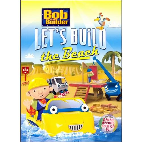 Bob The Builder - Let's Build The Beach  dvd