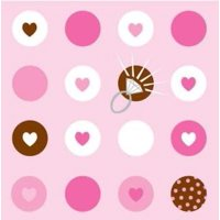 Bride to Be Dots 3-Ply Lunch Napkins , 2PK