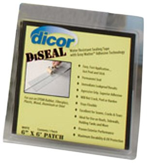 "Dicor (522Tpo-450-1C) White 4"" X 50' Diseal Sealing Tape"