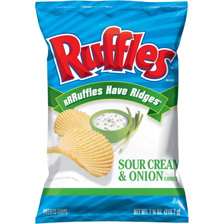 frito lay ruffles potato chips oz. Black Bedroom Furniture Sets. Home Design Ideas