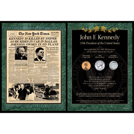 American Coin Treasures New York Times JFK Assassination Memorabilia