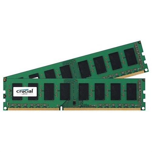 Crucial 4gb Ddr3 Sdram Memory Module - 4 Gb [2 X 2 Gb] - Ddr3 Sdram - 1600 Mhz Ddr3-1600/pc3-12800 - 1.50 V - Non-ecc - Unbuffered - 240-pin - Dimm (ct2k25664ba160ba)