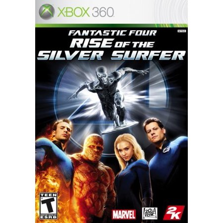 Fantastic 4  Rise Of The Silver Surfer   Xbox 360  Exclusive Storyline That Complements The Film   Combination Of Movie And Original Plot By 2K