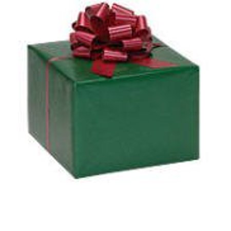 Forest Green Elegant Glossy Solid Color Gift Wrap Wrapping 16ft Roll Paper ()