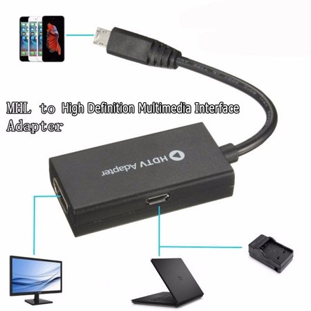 On Clearance  Micro USB To High Definition Multimedia Interface  3 in 1 1080P HD TV Cable Adapter for Android Smart Phone Galaxy S3 S4 S5 & NOTE 2 The Second Piece of 30% off