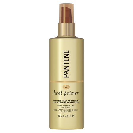 Pantene Pro-V Nutrient Boost Heat Primer Thermal Heat Protection Pre-Styling Spray, 6.4 fl (Best Heat Protectant For Blonde Hair)