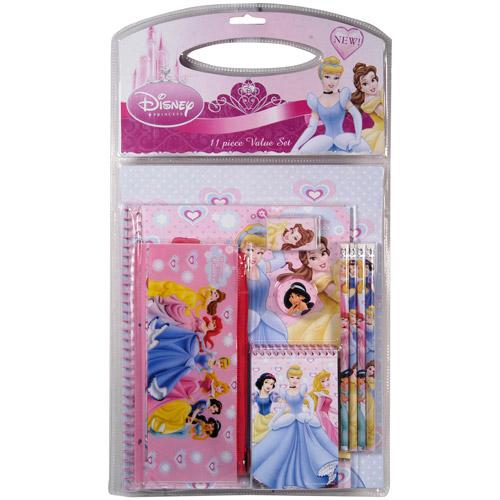 Disney Princess 11-Piece Value Pack in PVC bag