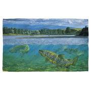 Wild Wings Bighorn River 2 Beach Towel White 36X58