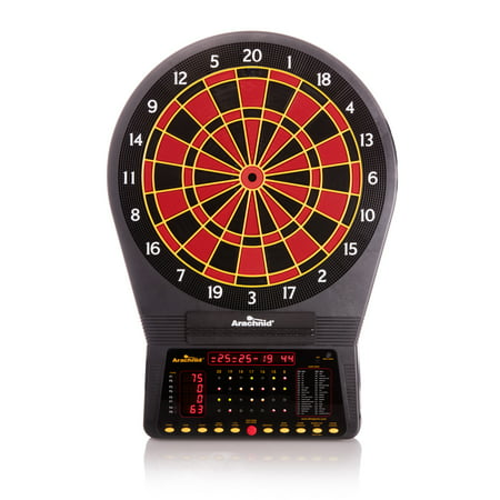 Arachnid Cricket Pro 750 Electronic Dartboard Features 36 Games with 175 Variations for up to 8