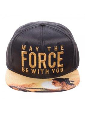 Baseball Cap - Star Wars - May The Force Metallic Embroidered Satin sb4mvrstw