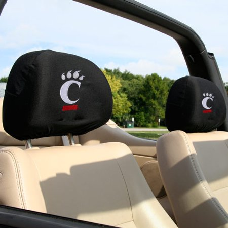 Cincinnati Bearcats 2-Pack Headrest Covers - No Size