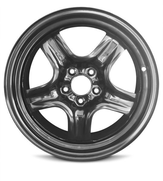 "New 17"" Steel Rim For Chevrolet Malibu (08-12) Pontiac G6 (07-10) Saturn Aura (07-10)17x7 Inch 5 Lug Full Size Replacement Wheel"