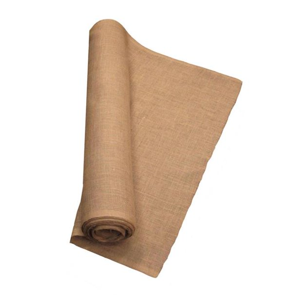 La Linen 40 Inch Wide Natural Burlap Fabric 20 Yards Walmart Com Walmart Com